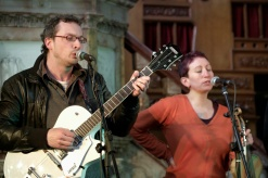 Ben and Gin at Wainsgate Chapel, Hebden Bridge. Photo by the remarkable multi-talented Tom Drinkwater tomdrinkwater.com