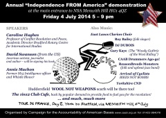Menwith Hill demo flyer